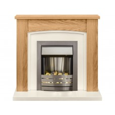 Fireplaces 4 Life Chilton 48'' Electric Fireplace Suite