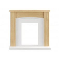 Fireplaces 4 Life Chilton 48'' Oak Veneer Fireplace