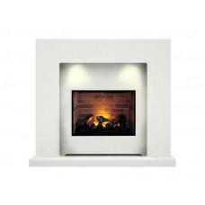 Fireplaces 4 Life Cuba 48'' Electric Fireplace Suite