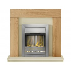 Fireplaces 4 Life Dakota 39'' Helios Electric Fireplace Suite