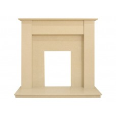 Fireplaces 4 Life Borussia 48'' Beige Stone Marble Fireplace