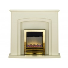 Fireplaces 4 Life Falmouth 49'' Eclipse Electric Fireplace Suite