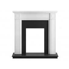 Fireplaces 4 Life Georgian 39'' Pure White Fireplace