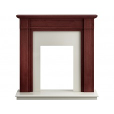Fireplaces 4 Life Georgian 39'' Mahogany Fireplace
