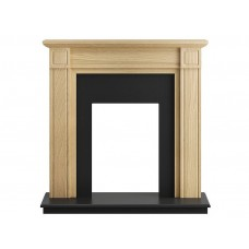 Fireplaces 4 Life Georgian 39'' Oak Veneer Fireplace