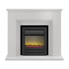 Fireplaces 4 Life Greenwich Stone 45'' Colorado Electric Fireplace Suite