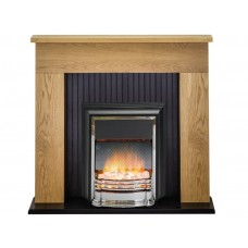 Fireplaces 4 Life Innsbruck 48'' Dimplex Electric Fireplace Suite