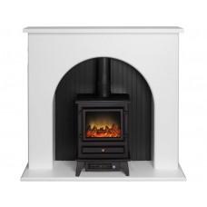 Fireplaces 4 Life Kirkham 48'' Aviemore Stove Fireplace Suite