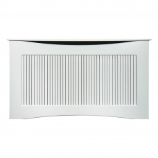 Adam Large White Radiator Cover