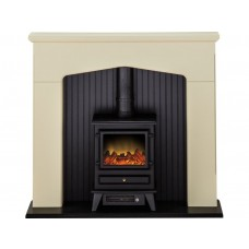 Fireplaces 4 Life Ludlow 48'' Electric Stove Fireplace Suite