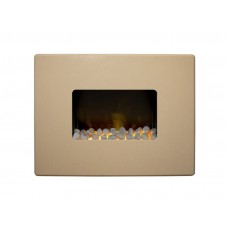 Adam Nexus 30'' Wall Mounted Electric Fire Beige
