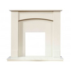 Fireplaces 4 Life Oxford 48'' Marfil Stone Marble Fireplace