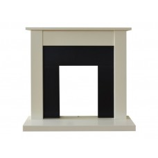 Fireplaces 4 Life Sutton 43'' Cream Fireplace