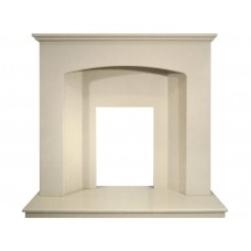 Fireplaces 4 Life 42'' Trinity Perola Marble Fireplace