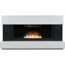 Fireplaces 4 Life Verona 48'' Panoramic Electric Fireplace Suite
