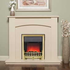 "Be Modern Allegra 48"" Electric Fireplace Suite"