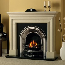 Cast Tec Anson Half Polish Fireplace Insert