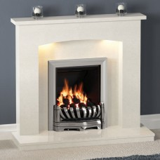 Be Modern Avantgarde Black Inset Gas Fire 1