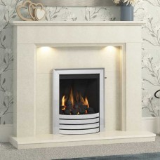Be Modern Madalyn 48'' Marble Fireplace Suite
