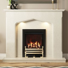 Be Modern Mataro 48'' Marble Fireplace Suite
