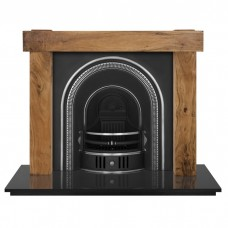 Carron New York Fireplace With Beckingham Cast Iron Arch Highlighted