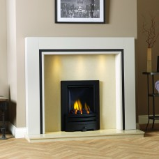 GB Mantels Belgravia Oak Fireplace Suite
