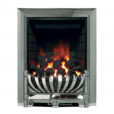 Be Modern Avantgarde Chrome Inset Gas Fire 1