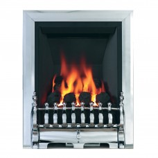 Be Modern Classic Inset Chrome Gas Fire (Plain)