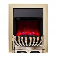 Be Modern Lexus Brass Electric Fire