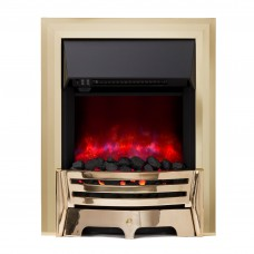 Be Modern Mayfair Brass Electric Fire (Electric Fires)