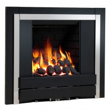 Be Modern Panoramic Inset Black Gas Fire