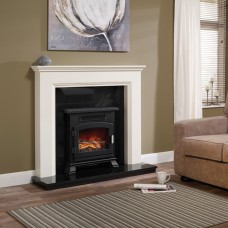 "Be Modern Westerdale 48"" Timber Fireplace Surround"