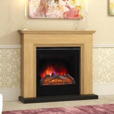 Elgin & Hall Berkley Natural Oak Fireplace Suite