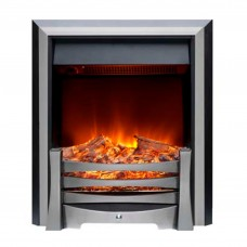 Burley Egleton Stainless Steel Electric Fire