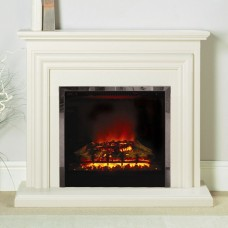 Be Modern Carina 44'' Electric Fireplace Suite