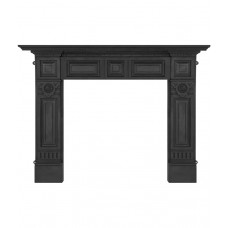 Carron Hampton 64'' Cast Iron Fire Surround