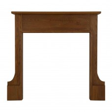 Carron Milton 46'' Oak Wood Fire Surround