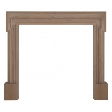 Carron Palladio 47'' Oak Wood Fire Surround