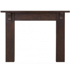 Carron Elm Corbel 56'' Reclaimed Wood Fire Surround
