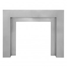 Carron 56'' Sherbourne Stainless Steel Fire Surround