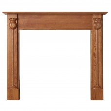Cast Tec Tulip Wooden Mantel
