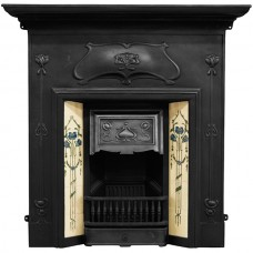 Carron Verona Combination Cast Iron Fireplace Matt Black