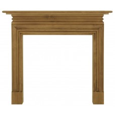 Carron Wessex 53'' Pine Wood Fire Surround Waxed