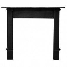Carron Alice 55'' Cast Iron Fire Surround Black