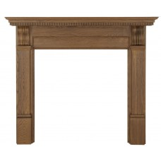 Carron Corbel 56'' Oak Wood Fire Surround