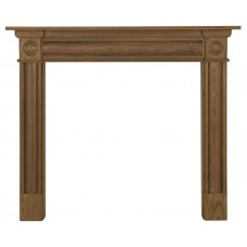 Carron Derry 52'' Oak Wood Fire Surround