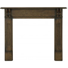 Carron Earlswood 55'' Oak Wood Fire Surround