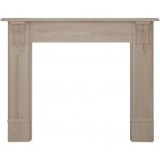 Carron Edinburgh Corbel 56'' Pine Wood Fire Surround