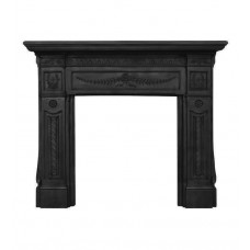 Carron Holyrood 63'' Cast Iron Fire Surround Matt Black