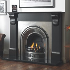 Cast Tec Anson Full Polish Fireplace